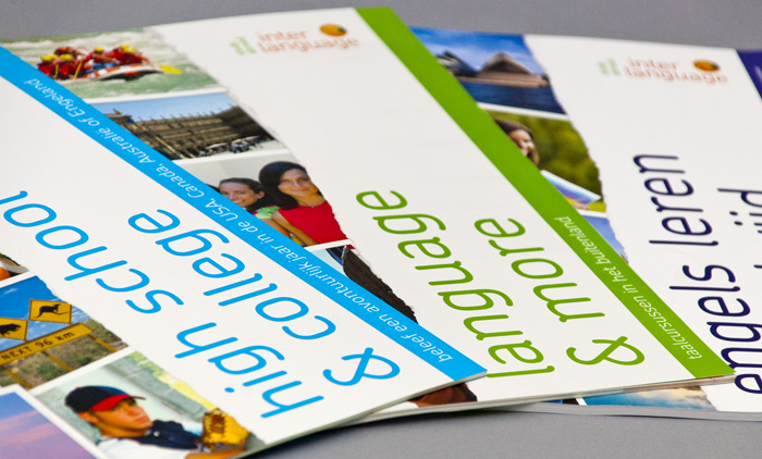 Interlanguage brochures