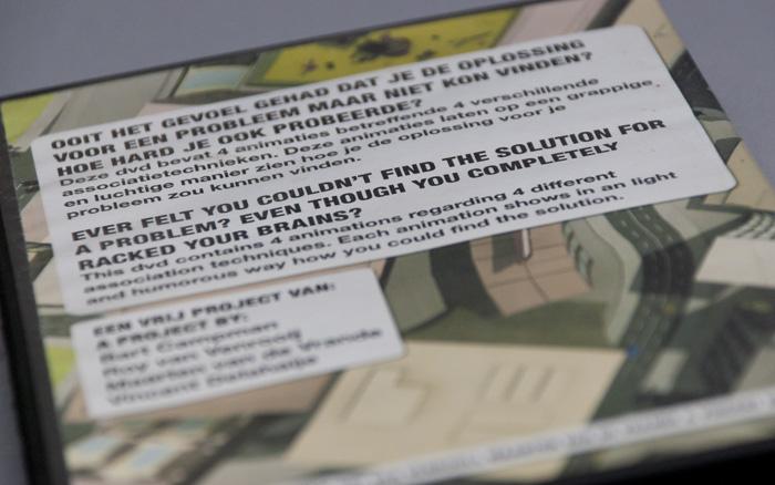 Detail van de achterkant van de dvd-cover