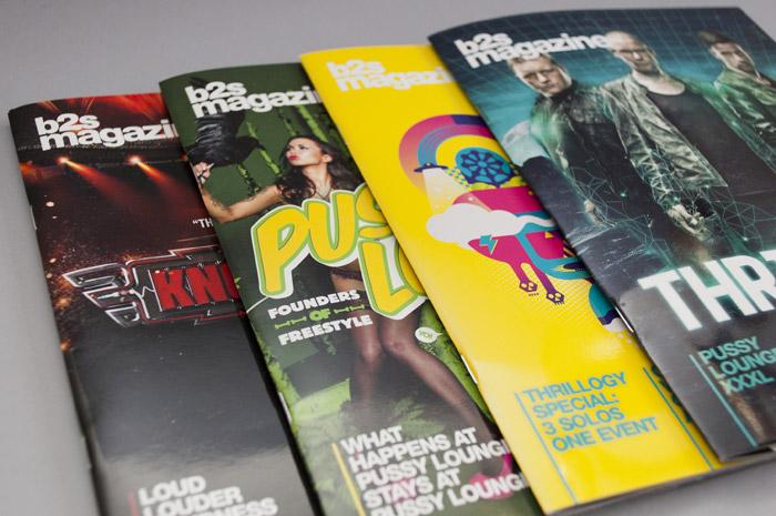 Enkele covers van B2S magazine