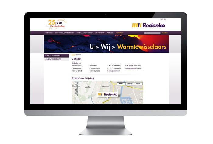 Website van Redenko