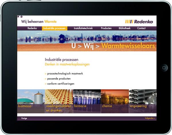 Screenshot van de presentatie